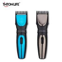 TINTON LIFE электрический триммер для волос Длина Регулируемая перезаряжаемая машинка для стрижки волос водостойкая