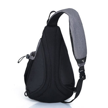 IX Brand Large Capacity Chest Bag Pack Nylon Zipper Women's Messenger Bags Men's School Bag Modern Shoulder Bag Backpack XA260WA 5