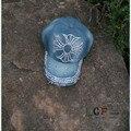 ОПТОВАЯ Торговля Розничная Торговля Алмаз Точка Пересекает ковбой промывают джинсовые кепки джинсы женщин бейсболка горный хрусталь Взрослых шляпы