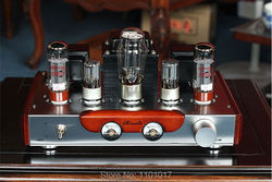 Himing Rivals RH34W EL34 Tube Amplifier HIFI EXQUIS Wood Version Single-Ended integrated handmade Scaffolding Amp