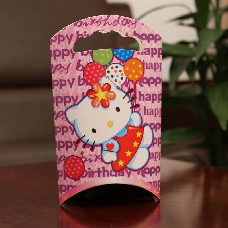 20pcs Kitty Candy Box Child Kids Birthday Party