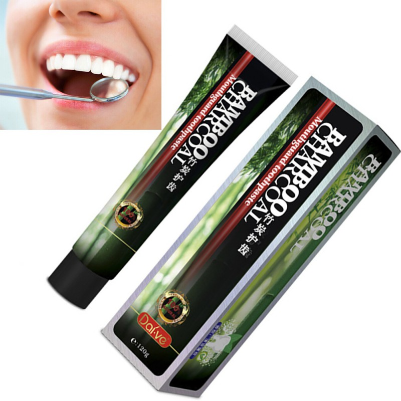 ᐃcarvao De Bambu Creme Dental Clareamento Dos Dentes Creme Dental