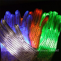 10 Pairs Wholesale Price Led Luminous Party Gloves Super Bright Stage Performance Dance Wear Light UP