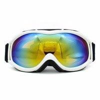 スキーゴーグル二重層レンズuv400アンチフォグスノースノーボードスキーメガネ防風球面ゴーグルドロップ無