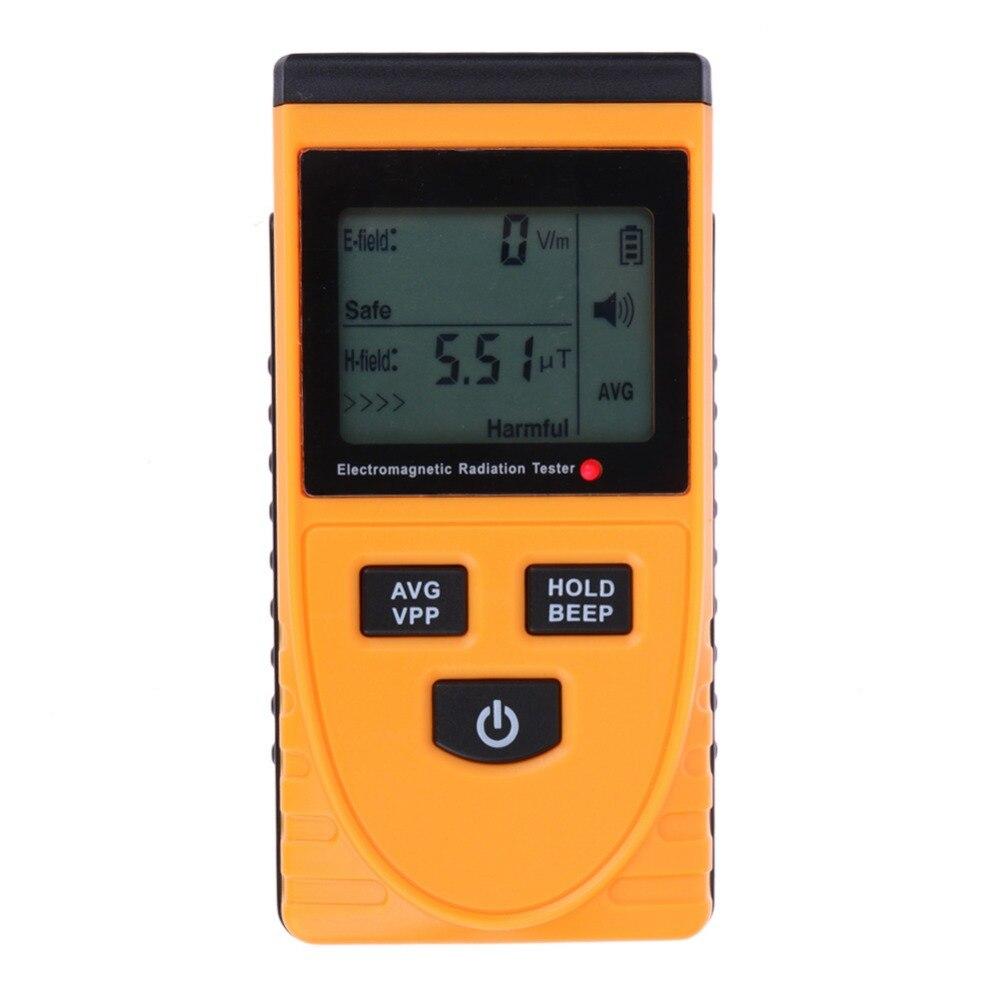 Digital LCD Electromagnetic Radiation Detector Meter Dosimeter Tester Counter 2 in 1 anti electromagnetic radiation measurement  цены
