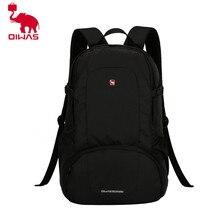 OIWAS 2017 Многофункциональный одноцветное Цвет Для мужчин Для женщин ноутбук рюкзак Бизнес Стиль сумка Школа сумка bagpacks