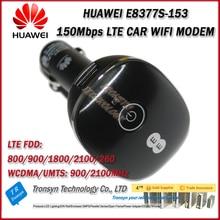 New Original Unlocked HUAWEI CarFi E8377 4G LTE Hotspot And 4G LTE Cat5 12V Car Wifi Router