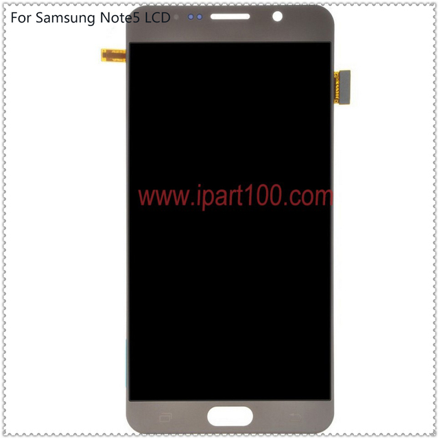 10pcs/lot guarantee original Lcd display with touch screen Digitizer Assembly for Samsung galaxy Note 5 Note5 N9200 DHL ems