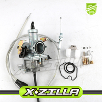 XZILLA PZ30 30mm Carburetor With Power Accelerating Pump & Dual Cable Kit For 200cc 250cc IRBIS TTR250 Motorcycles Bikes