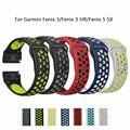 26mm 22mm Weichen Silikon Band Für Garmin Fenix 3/Fenix 3 HR/Fenix 5 5X Armband quickfit Band Armband Armband Fashon Uhr Bands-in Uhrenbänder aus Uhren bei