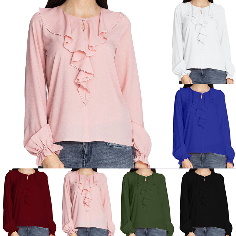 Blouses & Shirts Symbol Of The Brand Youyedian Short-sleeved Crochet Tunic Shirt Casual Loose Openwork Mesh Stitching Blouse Womens Blouses 2019 New Fashion