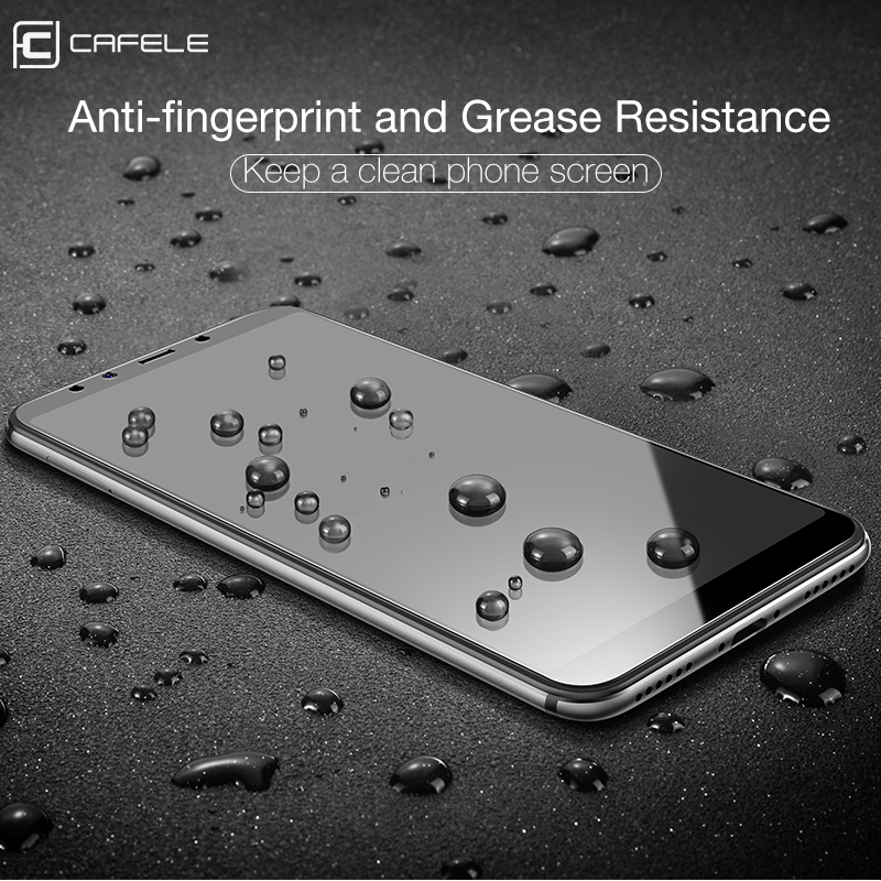 Cafele HD Clear Tempered Glass for Xiaomi Mi A2 6X Ultra thin Screen Protector for Xiaomi Mi A2 6X Glass Protector in Phone Screen Protectors from Cellphones Telecommunications