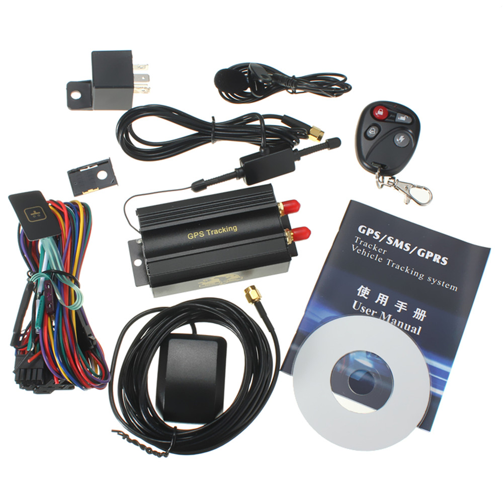 Brand New Car GPS Tracker GSM/GPRS Tracking Device Remote Control Auto Vehicle TK103B KA