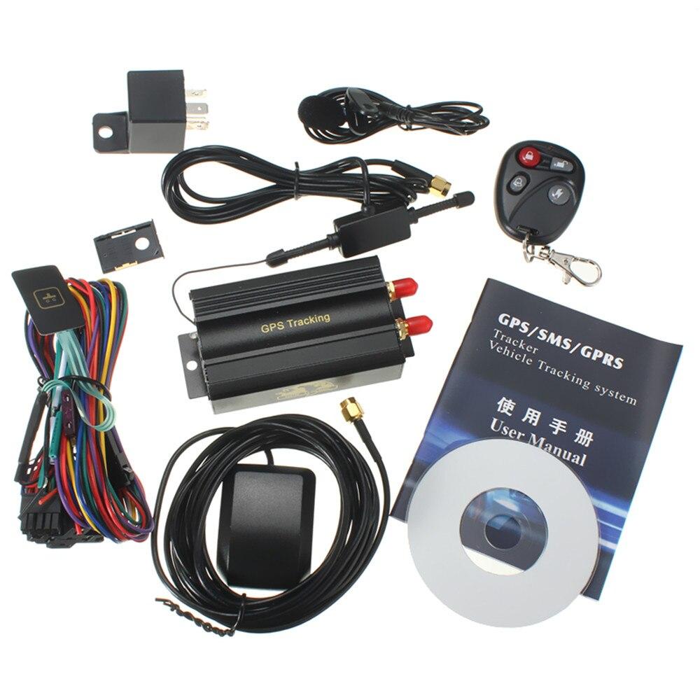Tout nouveau traqueur de voiture GPS GSM/GPRS dispositif de suivi à distance véhicule automatique TK103B KA