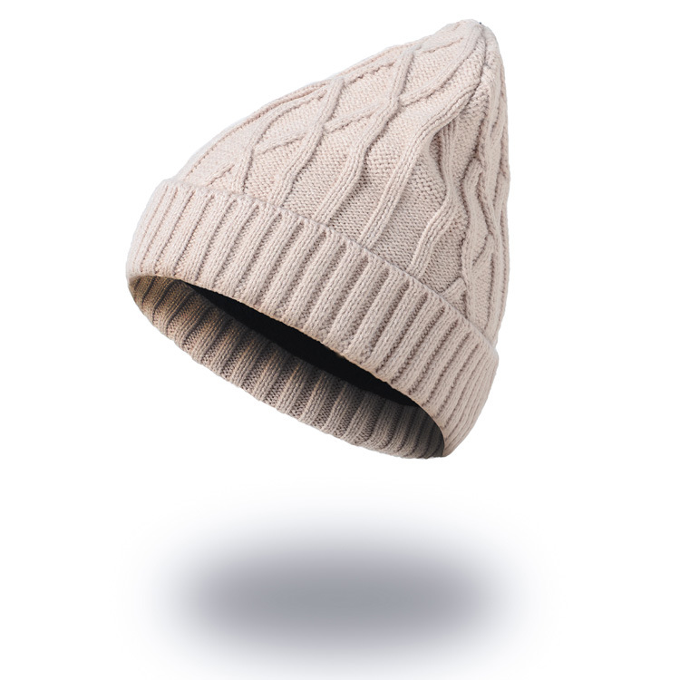 New Arrival Women's Solid Color Knitted Hat Men Casual Beanies Skullies Ski Cap 7 Colors ht8229
