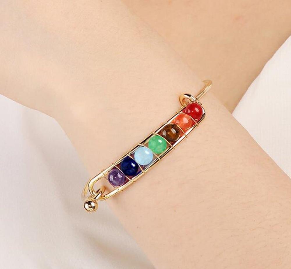 BC012-2 Chakra Bracelets