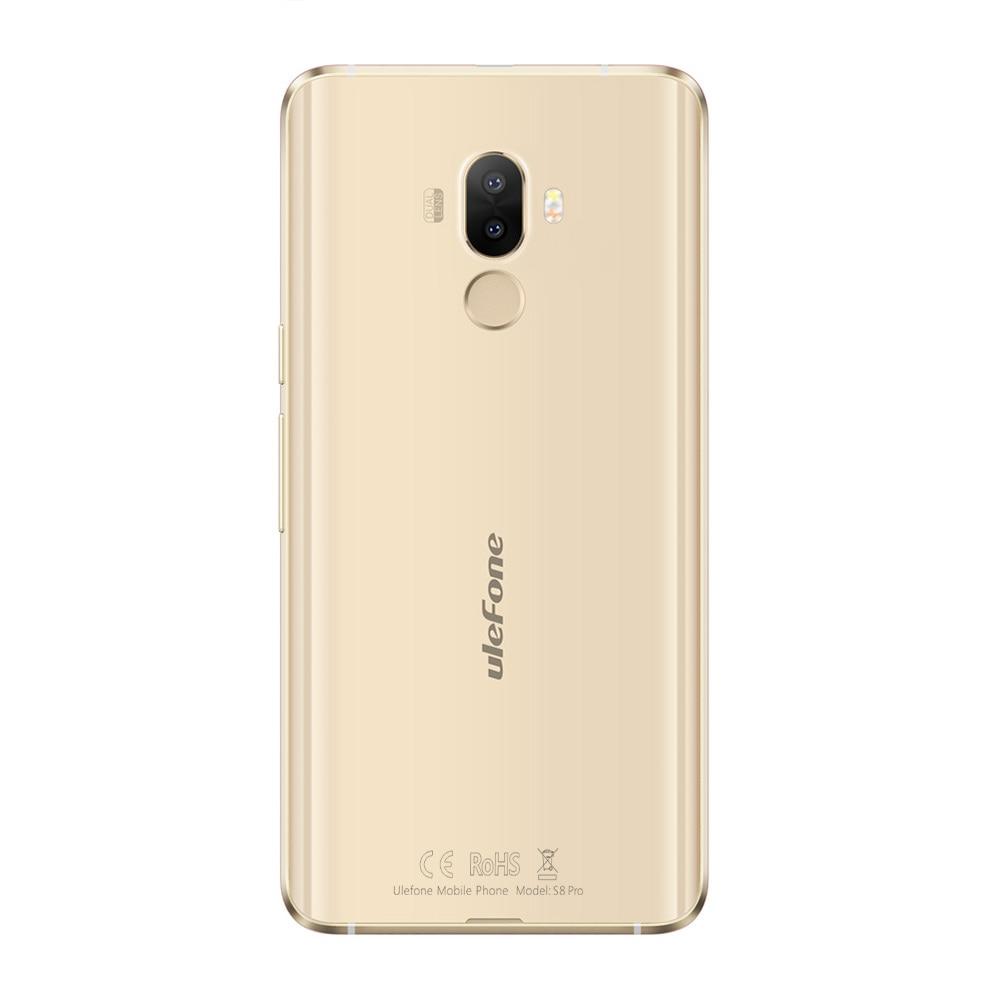Case)gift!Ulefone S8 Pro 5.3 Inch Android 7.0 4G MT6737 Quad Core 13MP+5MP 2GB RAM 16GB ROM 3000mAh Fingerprint ID Smartphone - 6