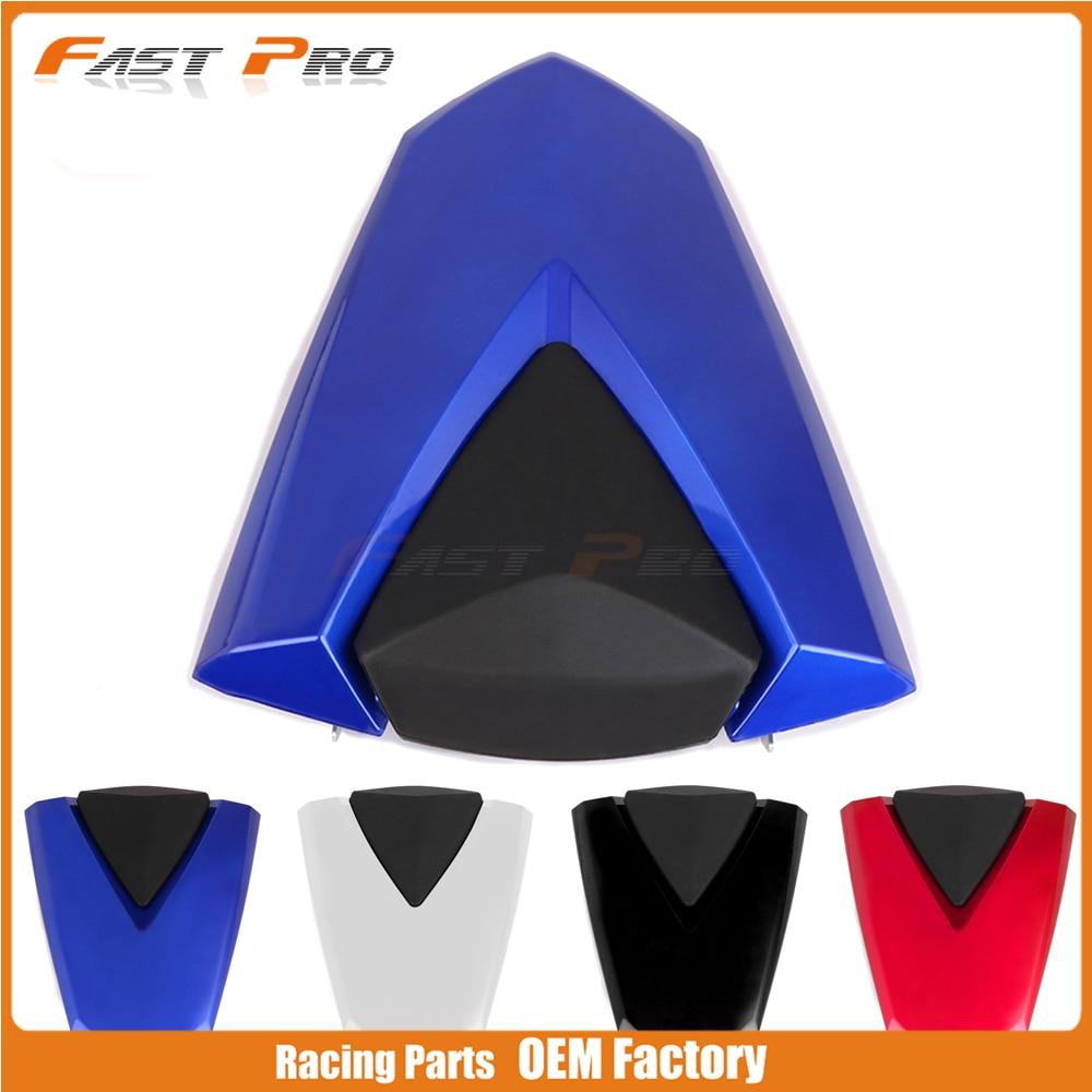 все цены на Motorcycle Plastic Rear Passenger Pillion Seat Protective Cover Cap For YAMAHA YZF R3 R25 YZFR3 YZFR25 13 14 15 16 17 18 MT03 онлайн
