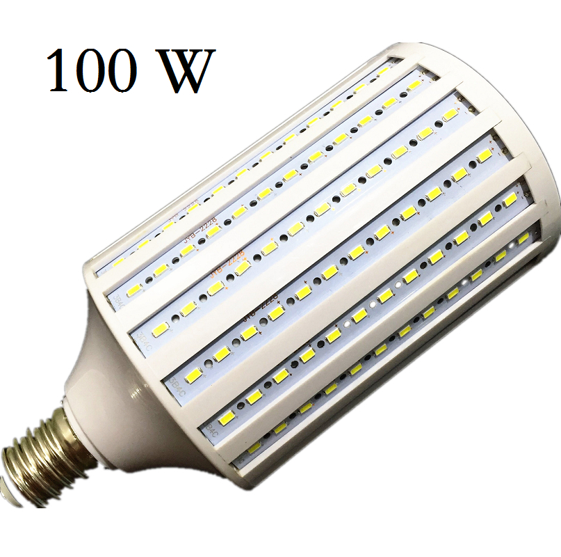 lampada 40w 50w 60w 80w 100w led lamp 5730 2835smd e27 e40 e26 b22 110v 220v corn bulb pendant. Black Bedroom Furniture Sets. Home Design Ideas