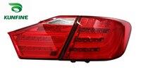 KUNFINE пара автомобиля задний блок освещения для TOYOTA CAMRY 2012 2013 2014 Азиатская версия стоп сигнала с поворотным сигналом