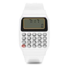Children's multifunctional watch fashion luxury brand design LED Watch Men Women silicone Electronic Digital sport wristwatch
