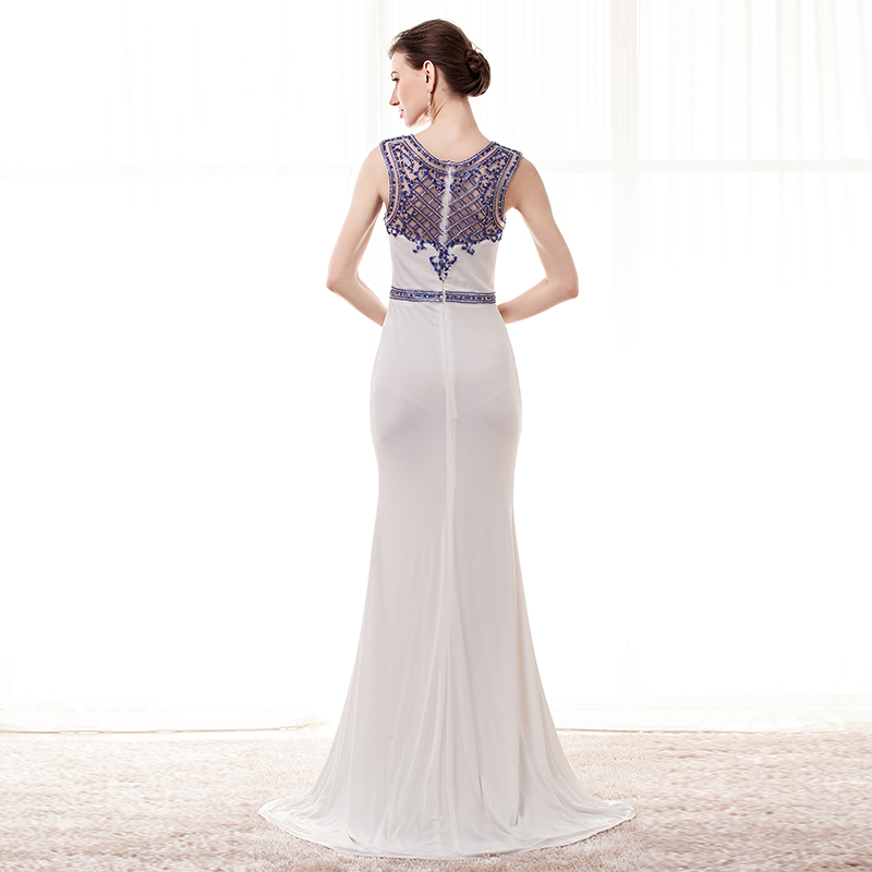 3eb7d691a9a26 Beaded Chiffon Evening Gowns 2019 Top Beaded Mermaid Wedding Party ...