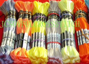 Cross stitch embroidery thread Embroidery Thread Choose Any Thread Number Royal Thread Total 100 Skeins Good Quality фото