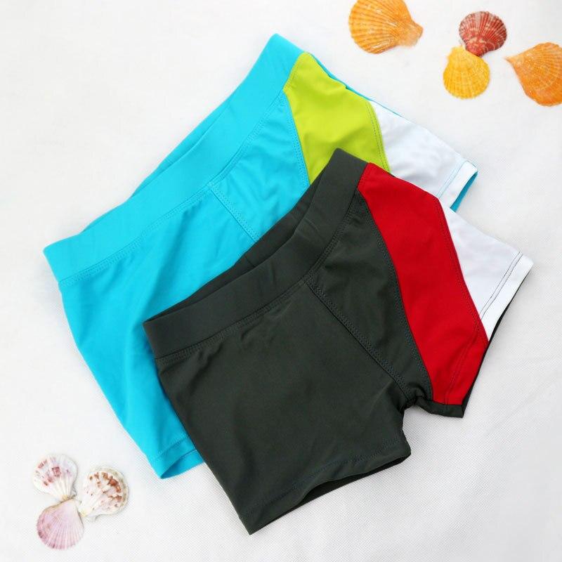 Niños natación troncos chicos Nylon traje de baño traje de niños pantalones cortos bebé niños pantalones traje de niños traje de baño 3-12Years