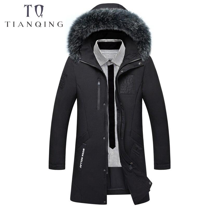 Schmuck & Zubehör 85% Weiße Ente Unten Jacken Qualität Hübsche Warme Lange Mode Business Winter Kleidung Der Männer Mantel Lässig Männlich Parka 8819 In Vielen Stilen