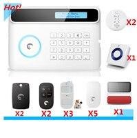 2018 Grande Alarme Etiger S4 Sistema de Alarme Sem Fio GSM Sistema de Alarme de Segurança Casa Inteligente com flash Strobe Sirene ao ar livre