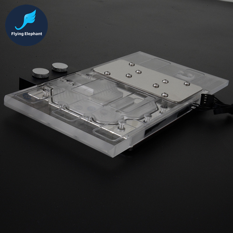 Flying Elephant GTX1080 GAMING X8G None-Public version Graphics card of the Water Cooling Radiator all Full Cover Waterblock купить