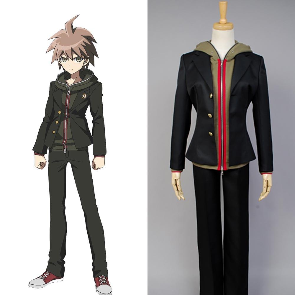 Danganronpa Cosplay Makoto Naegi Costume Full Set Uniform ...
