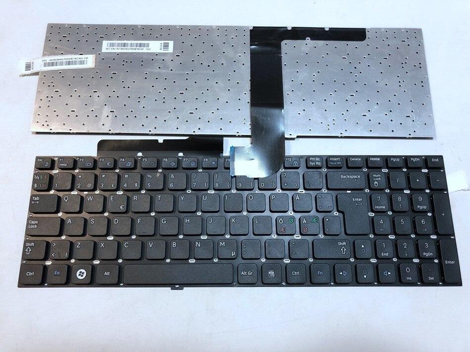 Nordic Czech Slovak Laptop Keyboard For Samsung NP-SF511 NP SF510 RF510 RF511 QX530 RF530 SF511 SF510 ND CZ SL Layout