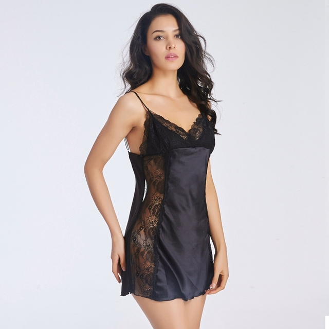 Plus size lingerie gowns