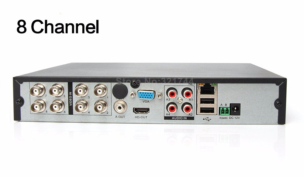 13 8 Channel Hybrid DVR NVR