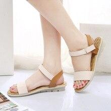 Women Flat Sandals 2017 Fashion Women Summer Shoes Wedge Sandals Ladies Shoes Brand Sandalias Chaussure Femme