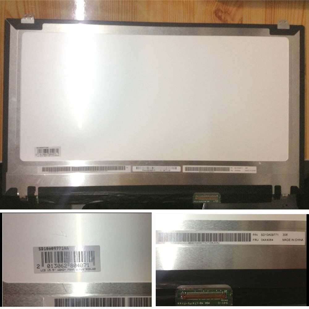 15.6 3K LCD Screen VVX16T028J00 for Lenovo Thinkpad T540P W550s W540 W541 QHD+ for lenovo thinkpad t460s t460p computer lcd led screen upgrade 3k lcd monitor vvx14t058j00 2560 1440 upgradable 3k screen
