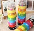 Высококачественный нетоксичный карандаш для рисования  12/18/24/36/48 цветов  масляная основа  цветной карандаш для офиса и школы