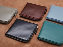 LANSPACE genuino femminile del raccoglitore del cuoio di marca famosa borse della moneta titolari di fashon delle donne portafogli