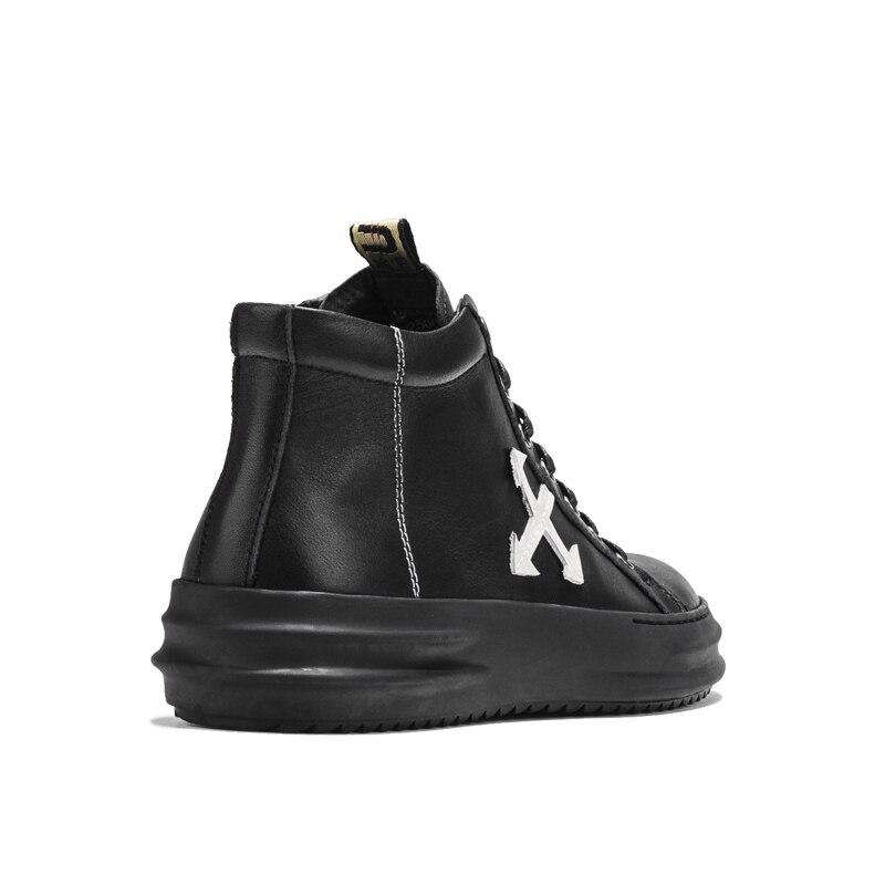Sapatos top Lace High Outono Baixos Preto Preta Homens Calçados Sneakers Moda Heinrich Masculinos Casuais Cor Up Primavera Respirável qZ6gE4U0
