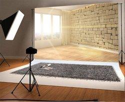Fotografia tło wnętrze pokoju z dużym oknem zdjęcie tła w Tło od Elektronika użytkowa na