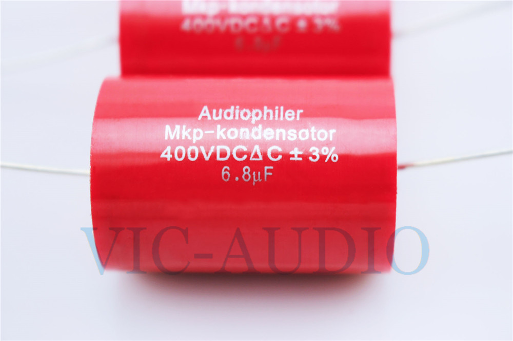 4PCS Audiophiler MKP-Kondensotor 400V 8.0uf 3/% Audio Capacitor 8uf Capacitance