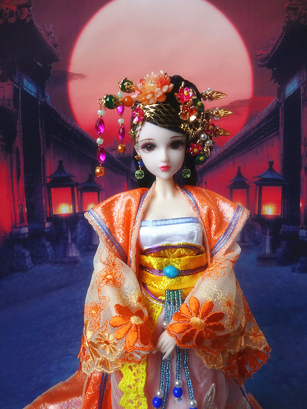 1:6 BJD Diaochan Figure Doll Set For Kids Childrens Adults Christmas Gifts