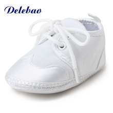 2016 New Design Lies Styel Baby Shoes Soft Sole Christen & Baptism Non-slip Newborn First Walkers