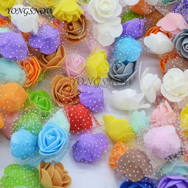 YONGSNOW 50Pcslot Artificial DIY Wedding Decoration