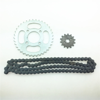STARPAD Motocross set of chain ATV modification accessories 420 chain + chain plate