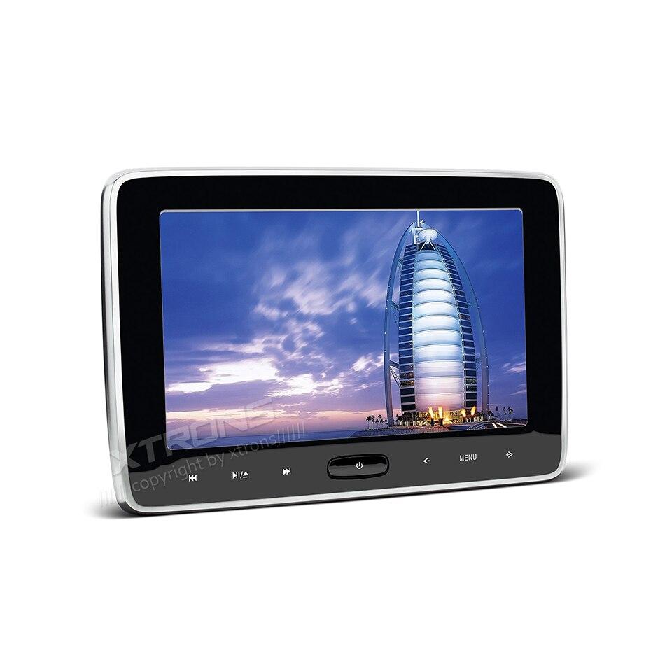 Pair 10 1 inch 1024 600 car headrest dvd player usb sd hdmi ir fm tft - 10 1 Hdmi In Car And Home Use Headrest Dvd Player 1024 600 Portable Pc