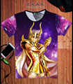 Gold Saint Seiya Character All Star T Shirt Design Manga Anime T-shirt Cool Novelty Funny Tshirt Style Unisex Print Fashion Tee