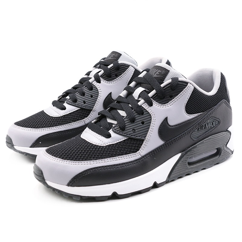 US $52.65 45% OFF|Original Authentic 2018 NIKE AIR MAX 90 ESSENTIAL Low Top Rubber Men's Running Shoes Sneakers Breathable Outdoor Sneakers 537384 in