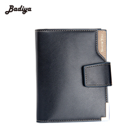 Multifunction Short Hasp Vertical Short Card Holders Men S Business Wallet New Brand Design Credit Card